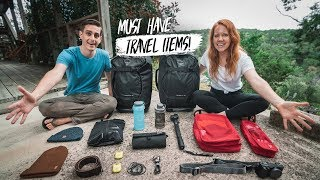 Our 12 MUST HAVE Travel Items After 3 YEARS OF FULL TIME TRAVEL!