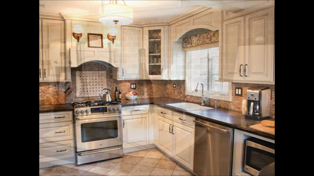 Kitchen design ideas white cabinets and corian youtube for Kitchen cabinet options design
