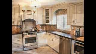 Kitchen Design Ideas - White Cabinets And Corian