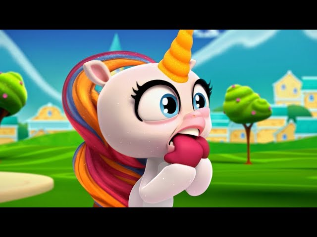 Fingerlings Tales | Why Do Unicorns Get Stressed? | Kids Cartoons
