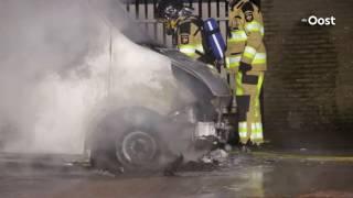 Weer busje uitgebrand in Ommen; eigenaar doet aangifte van brandstichting