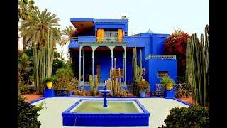 Majorelle Garden Marrakech - Yves Saint Laurent Home