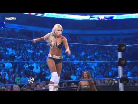 WWE SmackDown 10/14/11 | Beth Phoenix vs. Kelly Kelly
