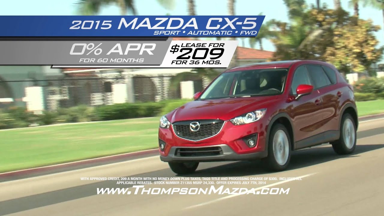 thompson mazda means more youtube