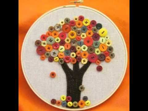 Diy Craft Project Ideas With Buttons Youtube
