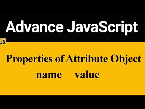 Properties Of Attribute Object In JavaScript (Hindi)