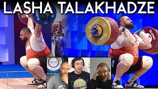 Lasha 222/263 Europeans '21 REACTION | World Record Snatch