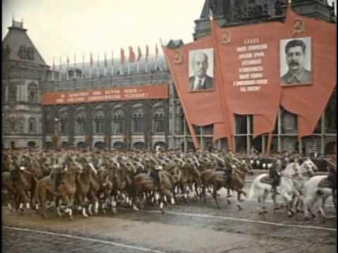 Парад Победы 24 июня 1945 СССР, нефашистская многонациональная русская пехота Сталина