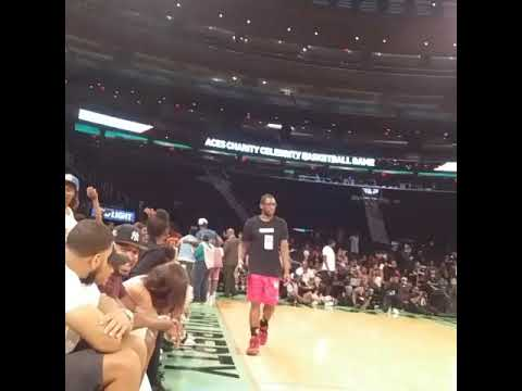 Charity Celeb Game at MSG