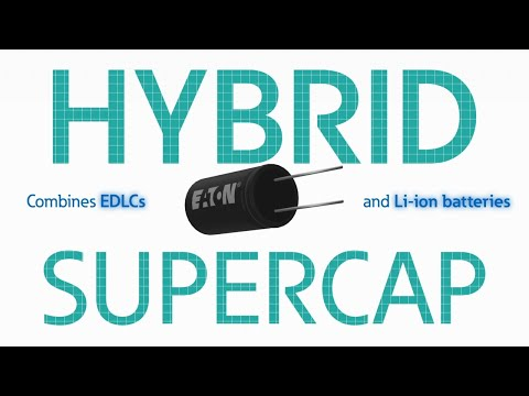 What is a hybrid supercapacitor?