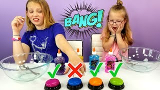 DON\'T Push The Wrong Button Slime Challenge!!!
