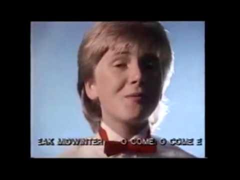 Aled Jones An Album of Hymns advert from the eighties