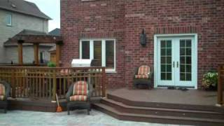 A Deck Resurface From Cedar To Timbertech