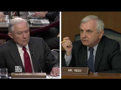 Reed asks Sessions why he changed his mind on Comey's handling of Clinton case