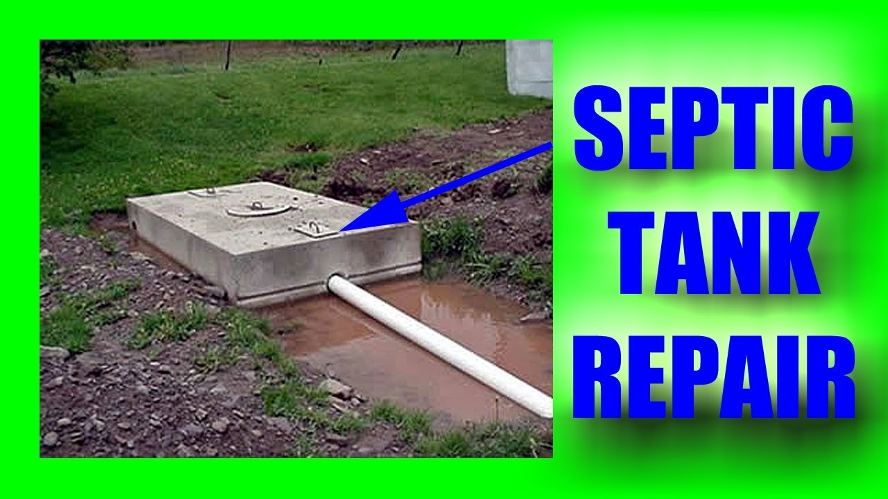 Repair of a septic tank Topaz: features of professional and independent service 22