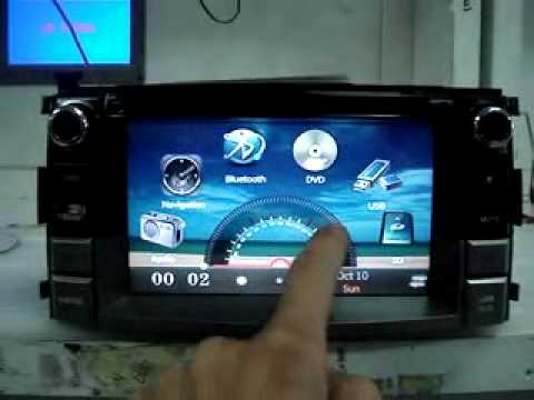 Skeleton 2 din DVD head unit specially for Toyota Rush & Daihatsu Terios