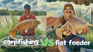 Carpfishing VS Flat Feeder або Баттл на Княжій Долині