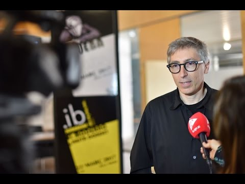 David Trueba en ETSA·TOPIA de la @etsaupv - Noticia @UPVTV, 31-03-2017
