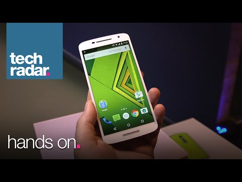 Moto X Play - Hands On Specs