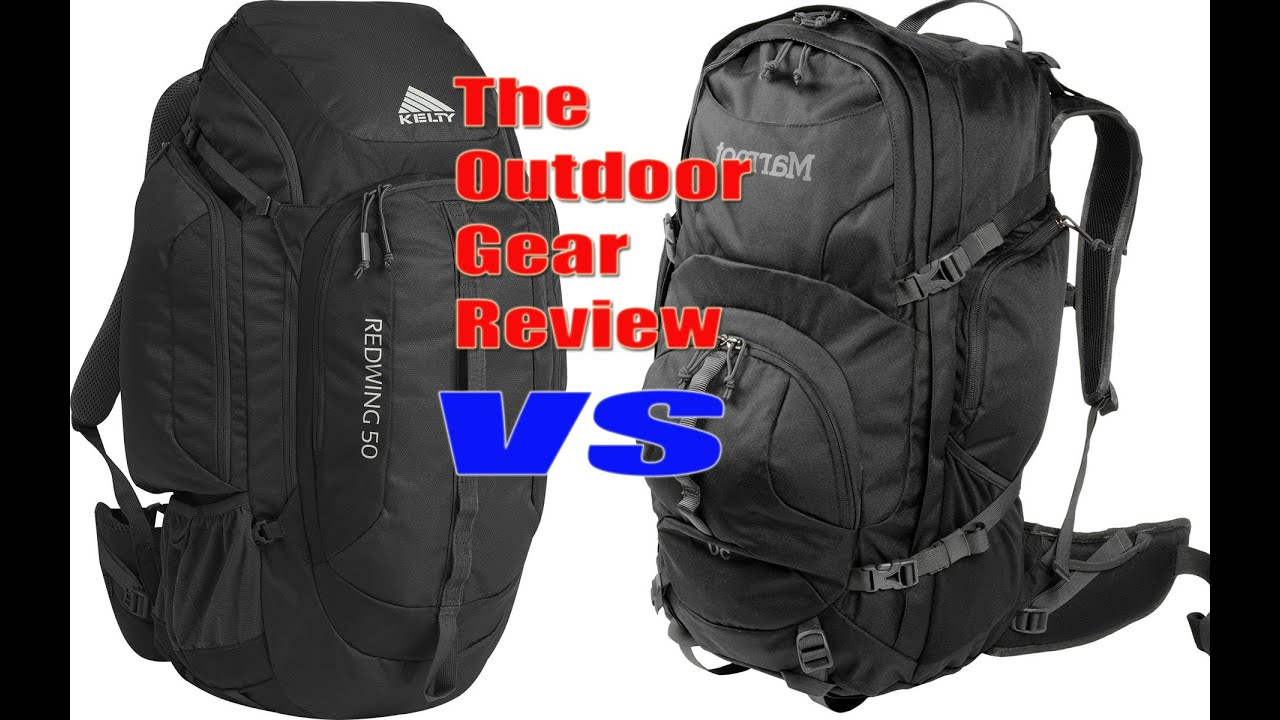 Marmot Clearwater 50 vs Kelty Redwing 50 Packs - The Outdoor Gear ...