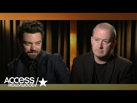 Dominic Cooper & Garth Ennis Talk 'Preacher' | Access Hollywood