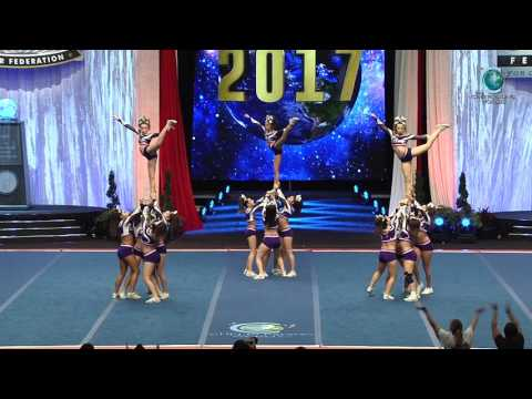 Bravo All Stars  Queen Bs 2017 Senior Small All Girl Semis