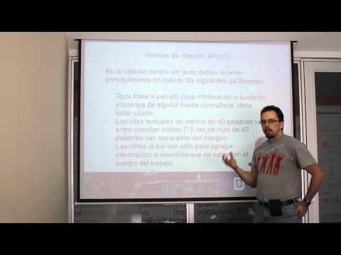 Citas y referencias con estilo APA en Word de YouTube · Duración:  15 minutos 12 segundos