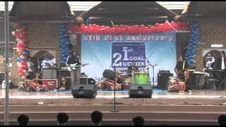 TWO POWERs in HARMONY Fragment in Rampak Gendang, Jaipong & Progressive Rock band .wmv