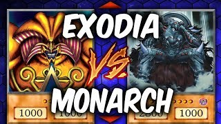 SKY-STRIKER EXODIA vs MONARCHS! (Yugioh Trade-Off Play-Off)