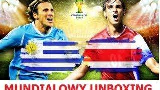 FIFA WORLD CUP 2014 - UNBOXINGOWY MUNDIAL - URUGWAJ vs KOSTARYKA
