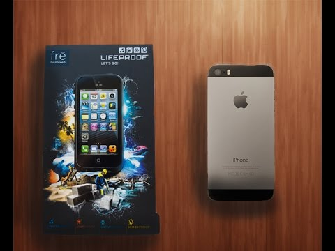 Life Proof Case For Iphone 5s Unboxing And Demo