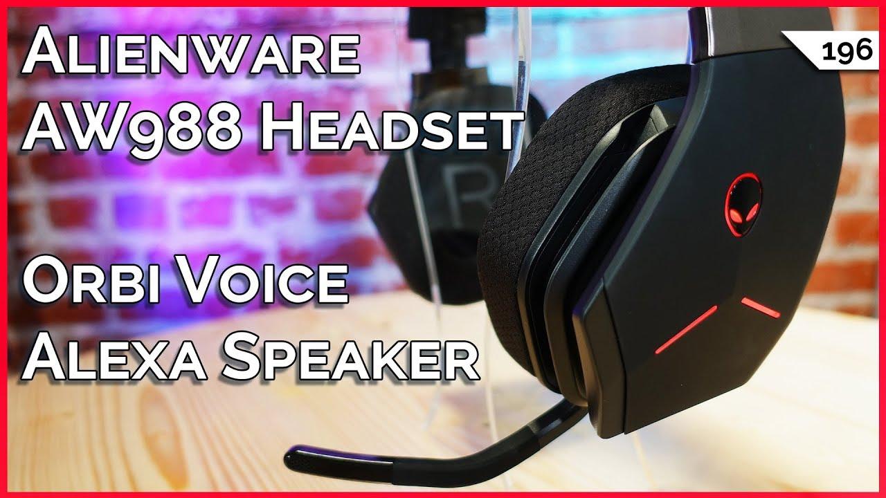 Orbi Voice: Alexa Smart Speaker, Alienware AW988 Headset, Best Handbrake  Settings for Blu-ray!!!