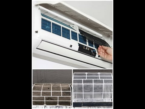 How to clean Air conditioner Filters | Clean Ac filter step by step | Split AC Service