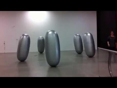 PANACEA kinetic art sculpture in motion