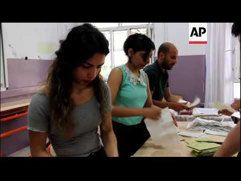 Counting begins in Turkey's presidential and parliamentary elections
