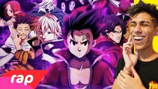 ASSISTINDO AO RAP DOS 10 MANDAMENTOS !! ( Nanatsu no Taizai )  ‹ Ine Games ›