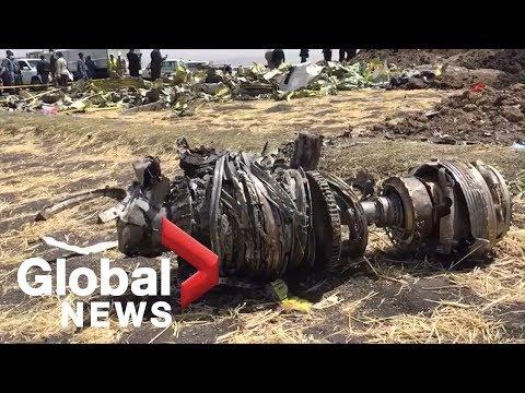 Ethiopian Airlines crash: Engine parts, airplane wheel found at crash site