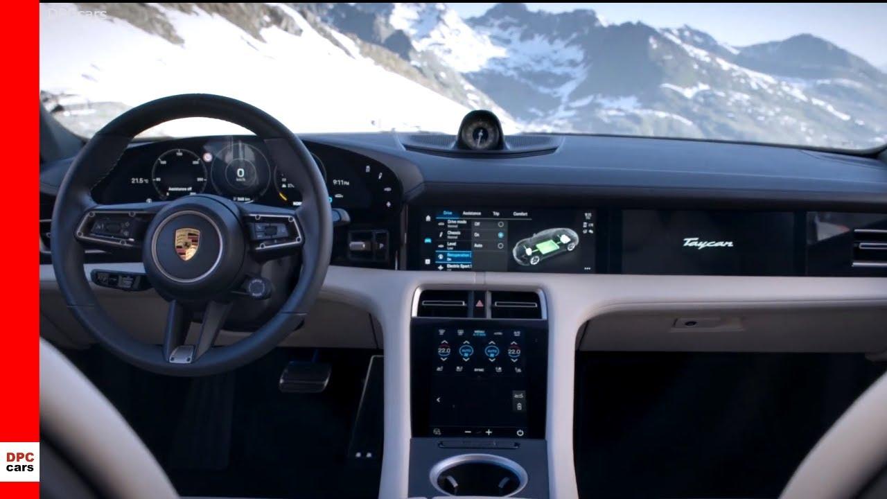 2020 Porsche Taycan And Turbo S Interior Cabin Youtube