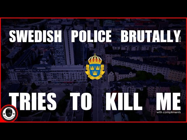 Swedish Police Pulls Me Over! (And You Won't Believe Your Eyes) 👮 [A Police Special Vlog]