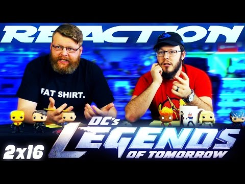 "Legends of Tomorrow 2x16 REACTION!! ""Doomworld"""