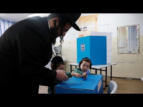 General elections start in Israel