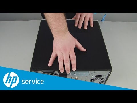 Replace the Access Panel | HP Pavilion Gaming 790-xxx PC Series and ENVY Desktop 795-000 CTO | HP