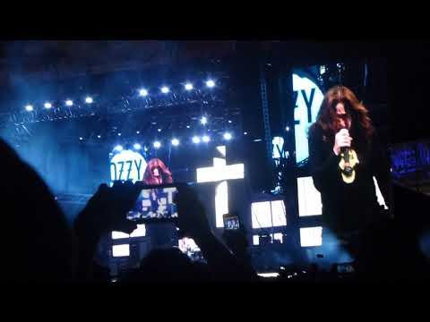 Ozzy Osbourne - Bark At The Moon - Jacksonville FL 4-27-2018