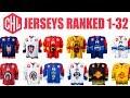2018 Champions Hockey League Jerseys Ranked 1-32