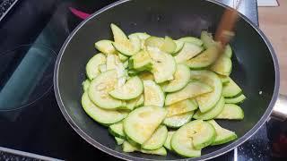 비타민다채, 가지, 호박 수확부터 요리까지~~