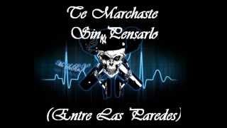 Rap Romantico 2014-Te Marchaste/Mc Scrok