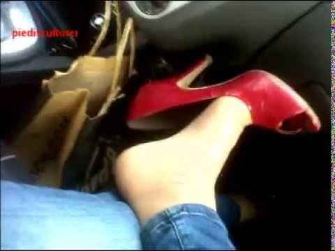 Alessandra autoreggenti e scarpe 9