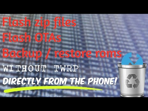 Flash Zip Without Recovery
