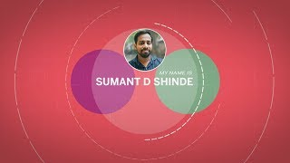 Motion Graphic Resume (Sumant D. Shinde)