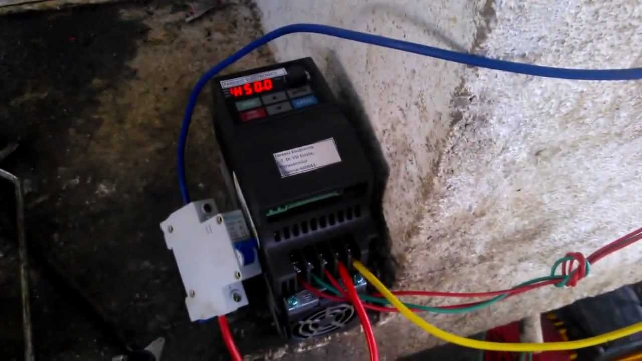 Vfd Wiring Pump Great Installation Of Diagram A Solar Using Delta Youtube Rh Com Huanyang Aduantage